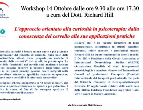 Workshop | L'approccio orientato alla curiosità in psicoterapia