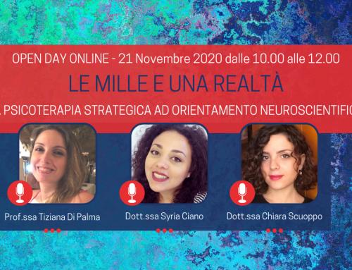 Le mille e una realtà | Open Day Online 21 Novembre 2020