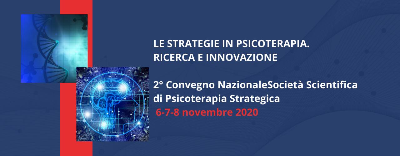 2° Convegno Nazionale della Società Scientifica in Psicoterapia Strategica