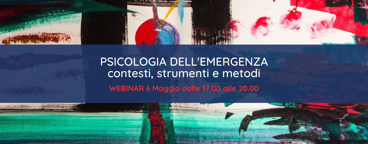 Psicologia dell'emergenza | Sara Cicchella