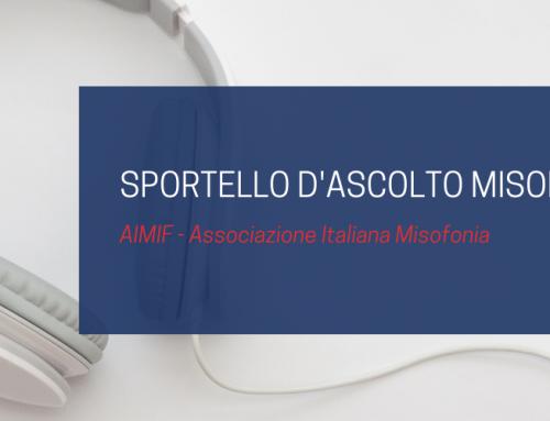 Sportello di Ascolto Misofonia | AIMIF